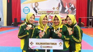 Photo of Petik 1 Emas 5 Perak, 2 Perunggu, Kempo Kaltim Tempati 3 Besar Juara Umum Pra PON Kempo 2019