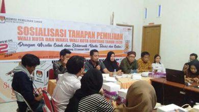 Photo of KPU Bontang Gelar Sosialisasi Pilkada 2020 Bersama Media, Berharap Jangan Golput