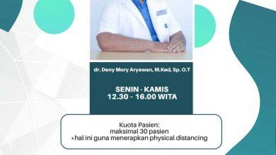 Photo of Jadwal Pelayanan Klinik Orthopedi RSUD Taman Husada Bontang