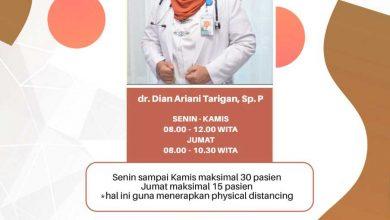 Photo of Jadwal Pelayanan Klinik Paru RSUD Taman Husada Bontang