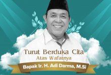 Photo of Segenap Manajemen dan Karyawan RSUD Taman Husada Mengucapkan Turut Berduka Cita Atas Wafatnya Bapak Ir. H. Adi Darma, M.Si