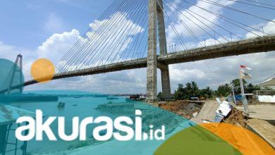 Photo of Jembatan Mahkota II Dibuka Kembali, Tahap Awal Baru Diperuntukan Buat Motor Saja Dulu