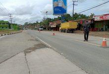 Photo of Hari Pertama Pembatasan Kendaraan Antara Kota, di Samarinda Pos Pengamanan Sepi