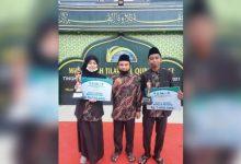 Photo of Raih Prestasi MTQ ke-42 Tingkat Kaltim, Dua Siswa Harumkan Nama SMP Vidatra