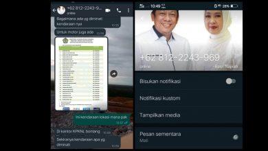 Photo of Kronologis di Balik Kasus Penipuan WhatsApp Catut Nama Wali Kota Bontang Basri Rase