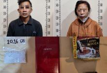 Simpan Narkoba Dalam Bra, Sejoli di Samarinda Dibekuk Polisi Saat Tunggu Pembeli